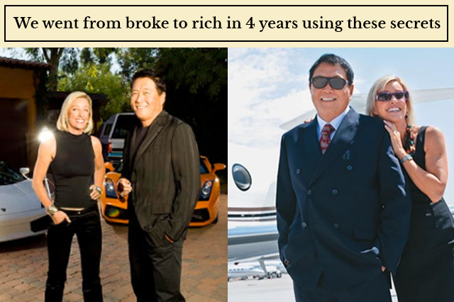 we went from broke to rich in 4 years