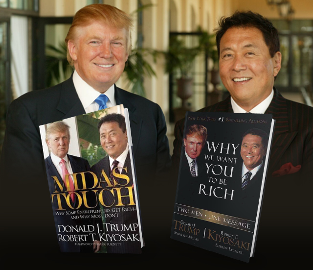trump and robert and their books