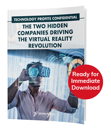 report cover: The Two Hidden Companies Driving the Virtual Reality Revolution