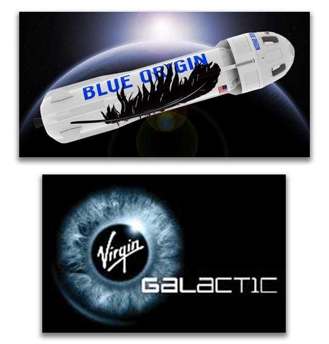 Blue Orgin and Virgin