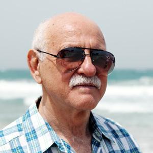 Old Man on Beach