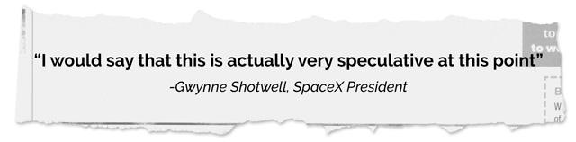 Gwynne Shotwell rip quote