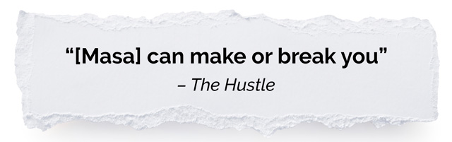 The Hustle rip quote