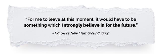 Halo-Fi rip quote