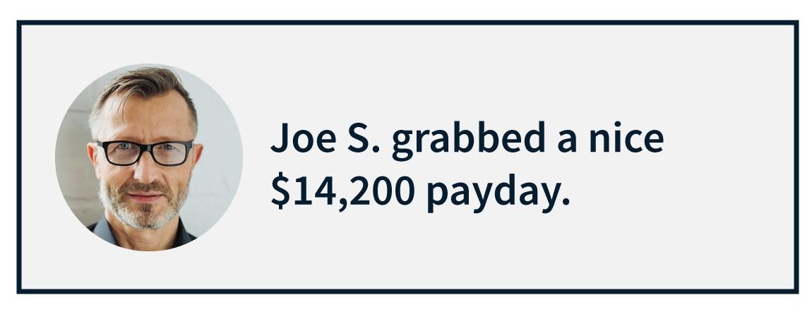 Joe S. Message