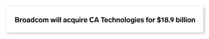 CA Technologies News Clipping