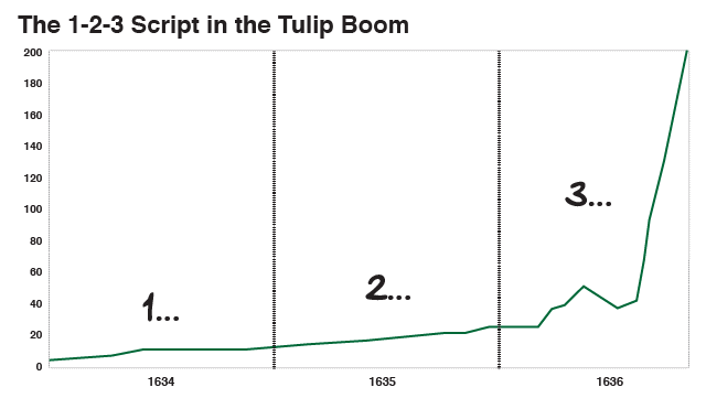 The 1-2-3 Script in the Tulip Boom