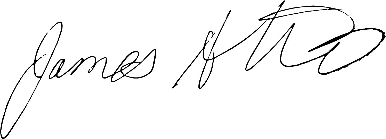 James' Signature