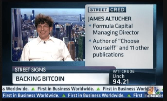 James on CNBC Backing Bitcoin