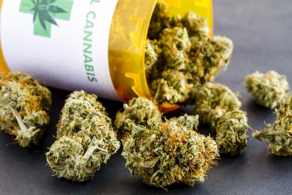 Marijuana in Bottle