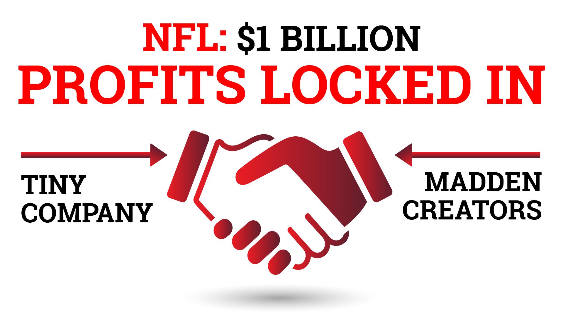 NFL: $1 Billion. Profits Locked In