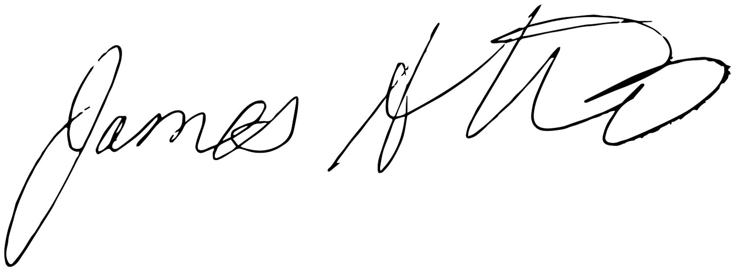 james altucher signature