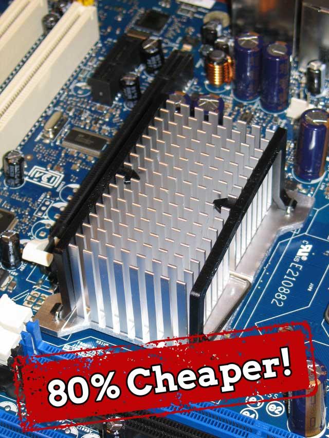 80% Cheaper