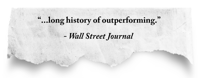 quote: Long history of outperforming, Wall Street Journal