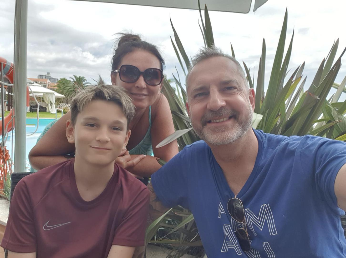 Carl Allen Family