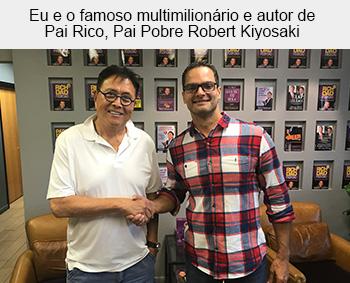 Robert Kiyosaki + Evaldo