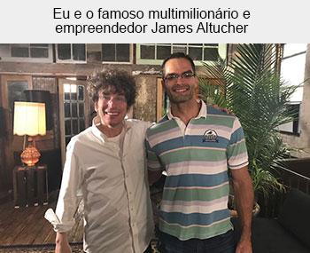 James Altucher + Evaldo