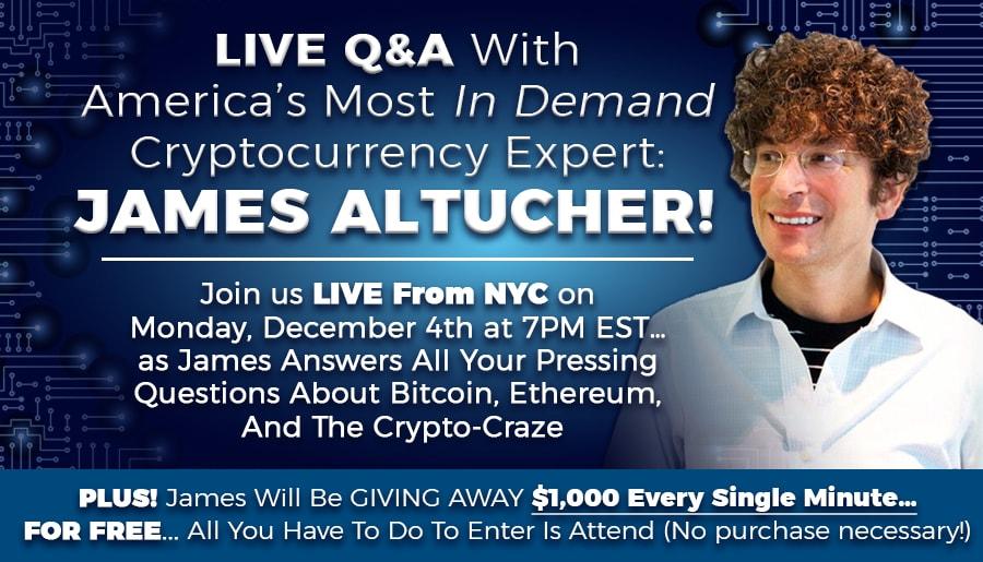 Live Q & A with James Altucher